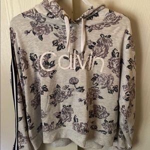 Floral print Calvin Klein sweatshirt